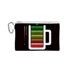 Black Energy Battery Life Canvas Cosmetic Bag (s)
