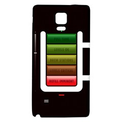 Black Energy Battery Life Galaxy Note 4 Back Case