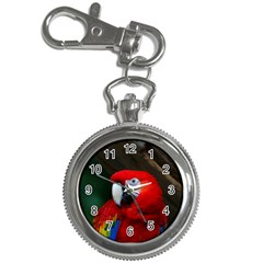 Scarlet Macaw Bird Key Chain Watches