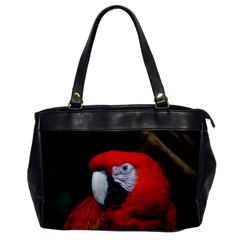 Scarlet Macaw Bird Office Handbags