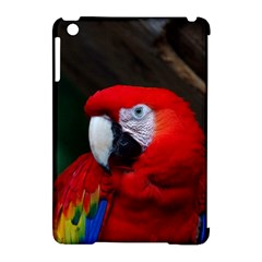 Scarlet Macaw Bird Apple Ipad Mini Hardshell Case (compatible With Smart Cover)