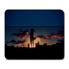 Art Sunset Anime Afternoon Large Mousepads