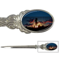 Art Sunset Anime Afternoon Letter Openers