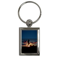 Art Sunset Anime Afternoon Key Chains (rectangle)