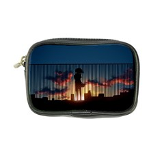 Art Sunset Anime Afternoon Coin Purse