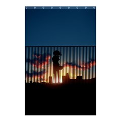 Art Sunset Anime Afternoon Shower Curtain 48  X 72  (small)