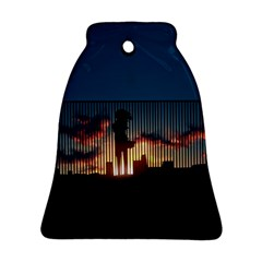 Art Sunset Anime Afternoon Ornament (bell)