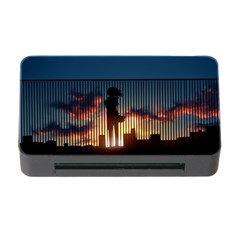 Art Sunset Anime Afternoon Memory Card Reader With Cf