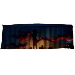 Art Sunset Anime Afternoon Body Pillow Case (dakimakura)