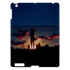 Art Sunset Anime Afternoon Apple Ipad 3/4 Hardshell Case