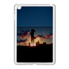 Art Sunset Anime Afternoon Apple Ipad Mini Case (white)