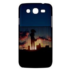Art Sunset Anime Afternoon Samsung Galaxy Mega 5 8 I9152 Hardshell Case