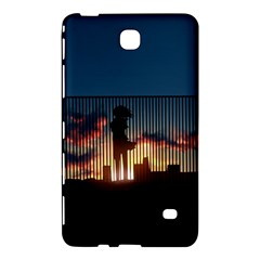 Art Sunset Anime Afternoon Samsung Galaxy Tab 4 (7 ) Hardshell Case