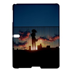 Art Sunset Anime Afternoon Samsung Galaxy Tab S (10 5 ) Hardshell Case