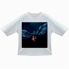 Owl And Fire Ball Infant/toddler T Shirts