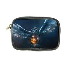 Owl And Fire Ball Coin Purse