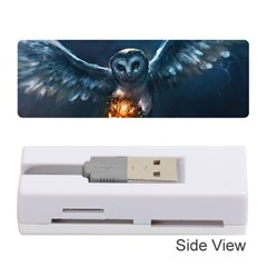 Owl And Fire Ball Memory Card Reader (stick)