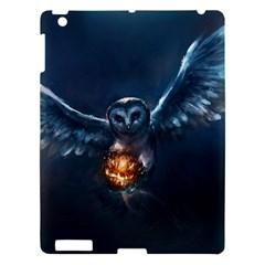 Owl And Fire Ball Apple Ipad 3/4 Hardshell Case