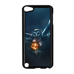 Owl And Fire Ball Apple Ipod Touch 5 Case (black)