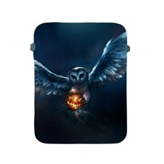 Owl And Fire Ball Apple Ipad 2/3/4 Protective Soft Cases