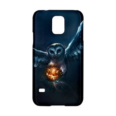 Owl And Fire Ball Samsung Galaxy S5 Hardshell Case