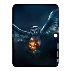 Owl And Fire Ball Samsung Galaxy Tab 4 (10 1 ) Hardshell Case