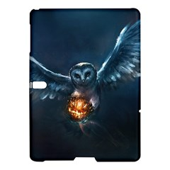 Owl And Fire Ball Samsung Galaxy Tab S (10 5 ) Hardshell Case
