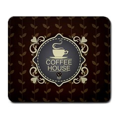 Coffee House Large Mousepads