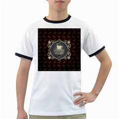 Coffee House Ringer T Shirts
