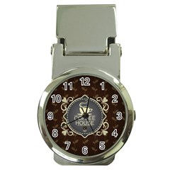Coffee House Money Clip Watches