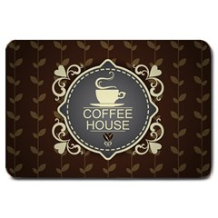 Coffee House Large Doormat