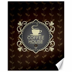 Coffee House Canvas 11  X 14