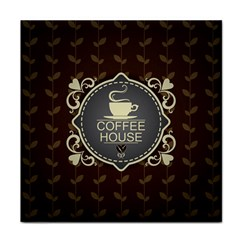 Coffee House Face Towel