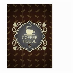 Coffee House Large Garden Flag (two Sides)