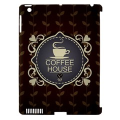 Coffee House Apple Ipad 3/4 Hardshell Case (compatible With Smart Cover)