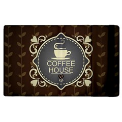 Coffee House Apple Ipad 3/4 Flip Case