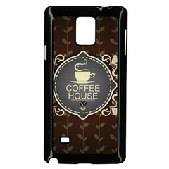 Coffee House Samsung Galaxy Note 4 Case (black)