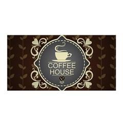 Coffee House Satin Wrap