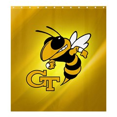 Georgia Institute Of Technology Ga Tech Shower Curtain 66  X 72  (large)