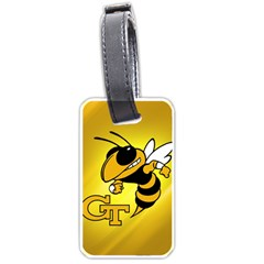 Georgia Institute Of Technology Ga Tech Luggage Tags (one Side)