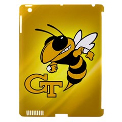 Georgia Institute Of Technology Ga Tech Apple Ipad 3/4 Hardshell Case (compatible With Smart Cover)