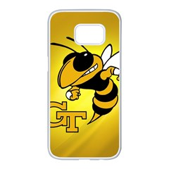 Georgia Institute Of Technology Ga Tech Samsung Galaxy S7 Edge White Seamless Case