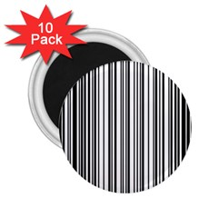Barcode Pattern 2 25  Magnets (10 Pack)