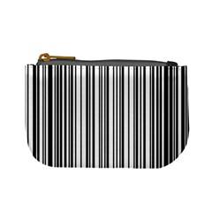 Barcode Pattern Mini Coin Purses