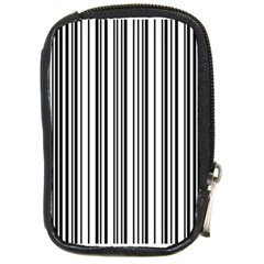 Barcode Pattern Compact Camera Cases