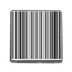 Barcode Pattern Memory Card Reader (square)