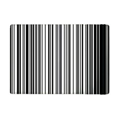 Barcode Pattern Apple Ipad Mini Flip Case