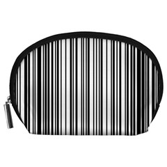 Barcode Pattern Accessory Pouches (large)