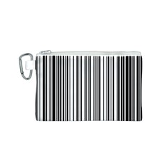 Barcode Pattern Canvas Cosmetic Bag (s)