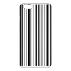 Barcode Pattern Iphone 6 Plus/6s Plus Tpu Case